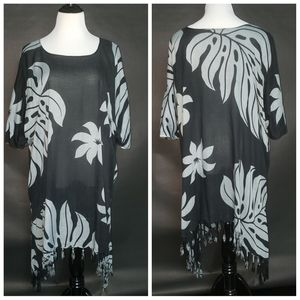 TUNIC no brand size XL bust 34 length 42